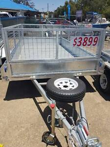 12X6 Tandem Heavy Duty Braked Trailer - From - $3899