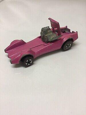 Hot Wheels Redline Strip Teaser 1970 Pink Made in Hong Kong