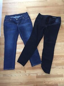 EUC maternity pant lot (3 items, size 29/medium)