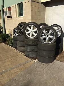 ASSORTED TYRES AND RIMS North Albury Albury Area Preview