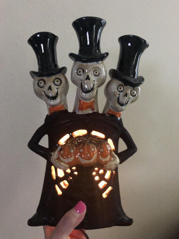 The Incredible Mr Bones And Friends Mark Cook Boney Bunch Lamp