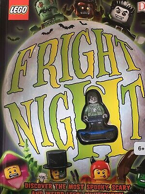 RARE LEGO DK Fright Night Halloween Book Zombie Skateboarder Minifigure NEW