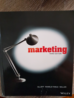 Uni text book. Marketing . Elliott rundle-thiele waller