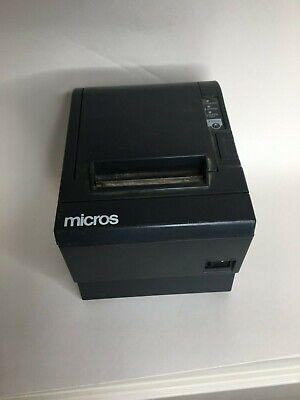 Micros Epson Tm-t88iii Receipt Thermal Printer Idn Interface - No Power Adapter