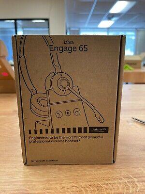 Jabra Engage 65 Stereo Wireless Headset - 9559553125