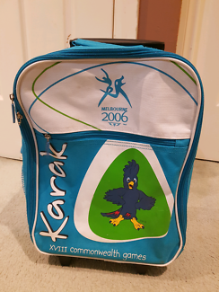 Kids children small back pack Melbourne 2006 commonwealth games