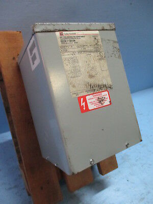 New Cutler Hammer S20k11s03 Dry Type Distribution Transformer 3 Kva 3kva 3r