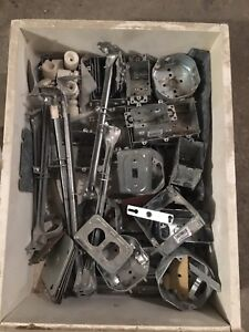 Several Electrical boxs & electrical supplies