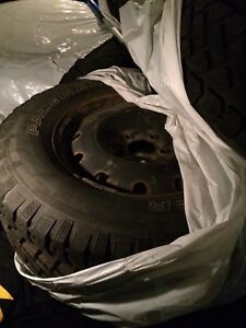 2 Sets of Winter Tires (on Rims)