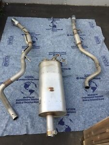 Stock dual exhaust for dodge ram
