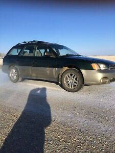 03 Subaru Outback Legacy with All Wheel Drive