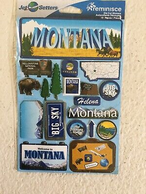 Montana Reminisce Jet Setters Self-Adhesive Epoxy -