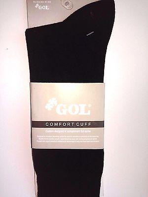 6 Pairs Men Best Quality GOL Cotton Socks dress Crew Comfort Cuff Gents