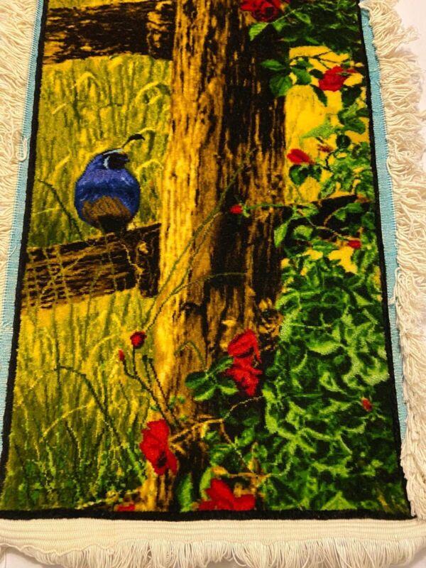 Handmade Silk Rug For Wall Frame