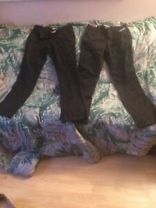 2 pairs of Black  pants