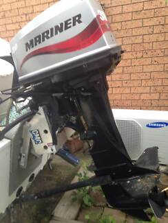 30 Hp Outboard Mariner 2006 Electric Start Trim & Tilt Cornubia Logan Area Preview