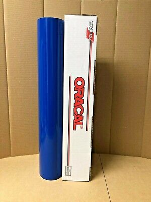 Oracal 651 1 Roll 24 X 10yd 30ft Blue 067 Gloss Sign Vinyl