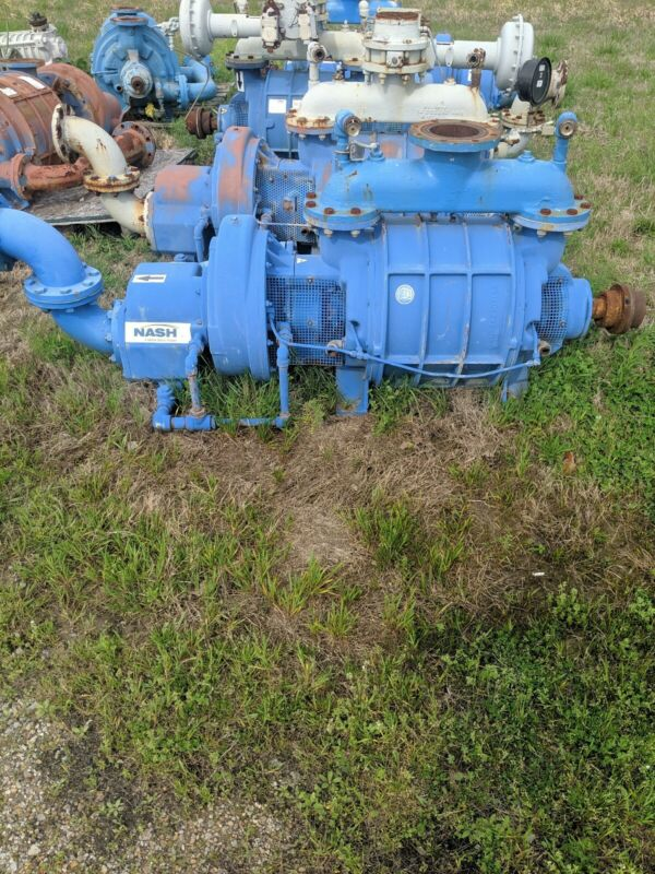 Nash Vacuum Pump AT 1006 BUILD DATE 2017 USED