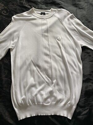 Versace Jumper sweater White Size Small