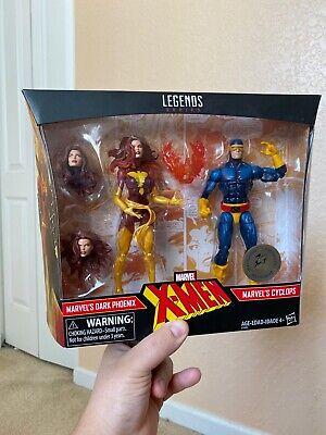 Hasbro Marvel Legends TRU Exclusive X-Men 2-Pack: DARK PHOENIX & CYCLOPS! NIB
