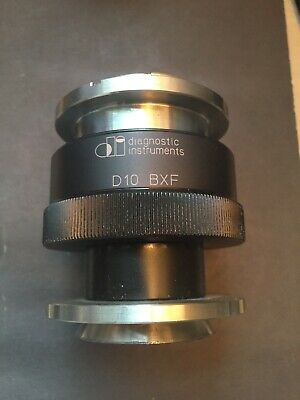 Spot Imaging Diagnostic Instruments Microscope Adapter D10 Bxf Clamp Olympus F