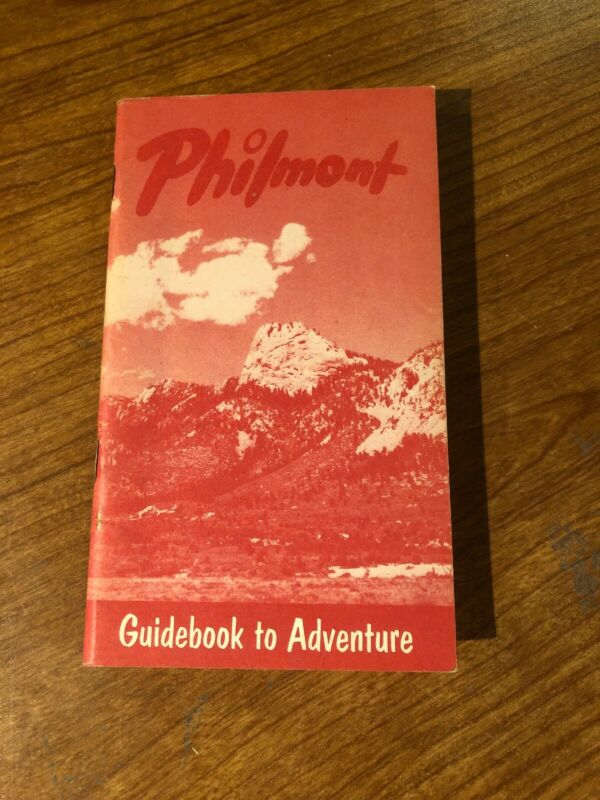 Philmont 1970's Guidebook to Adventure, Boy Scouts of America Near Mint