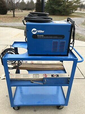 Miller Econotig Tig Welder With Heavy-duty Welding Cart