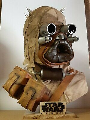 Star Wars Tusken Raider Lifesize bust custom scale 1:1 prop