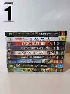 DVD's $3 each Eaton Dardanup Area Preview