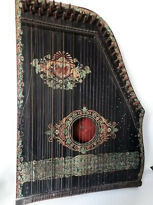 antike Guitar-Zither 19.Jahrhundert