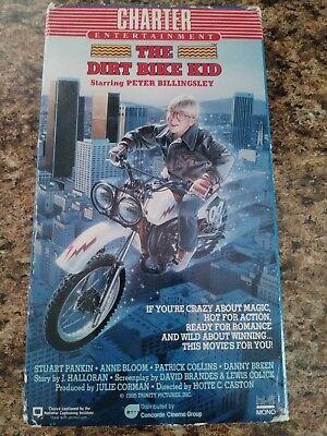 The Dirt Bike Kid - (VHS, 1986)
