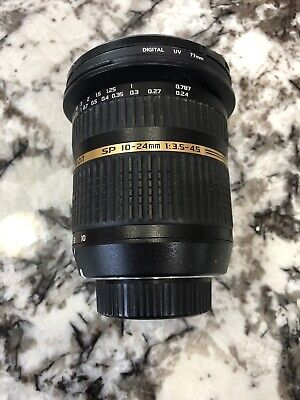 Tamron 10-24MM 1:3.5-4.5 DI II Zoom Lens For Sony Camera