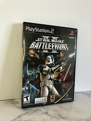 Star Wars: Battlefront II (PlayStation 2, 2005) CIB