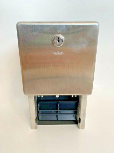 Bobrick Stainless Steel Toilet Paper Dispenser B-3888 - NO KEY