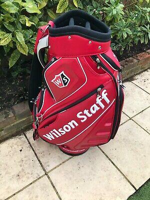 WILSON STAFF TOUR BAG ( Good Used Condition )