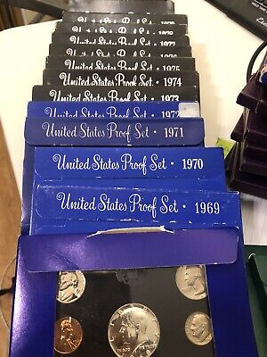 United States Proof Sets 1968 through 1998   31 Total   Lot 3* 1968 United States Mint