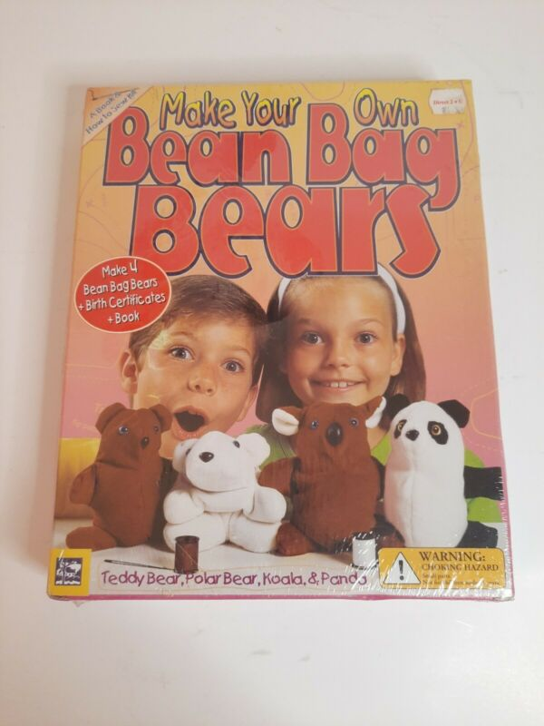 Make Your Own Bean Bag Bears Sewing Kit