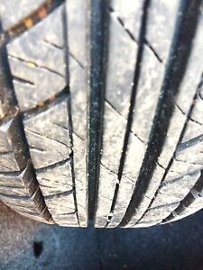 """Summer Motomaster tires 14"""" almost new"""