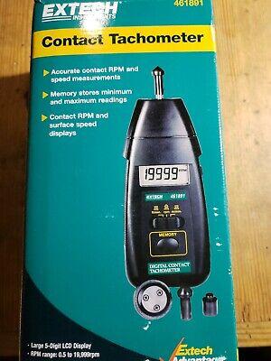 Extech 461891 Digital Contact Tachometer