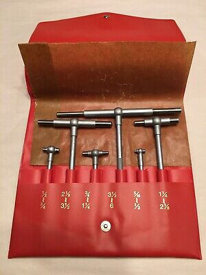 Set Of 6 Telescoping Gages - Made In Usa - Unbranded