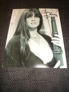 CAROLINE MUNRO signed Autogramm auf SEXY 20x25 cm Bild InPerson LOOK