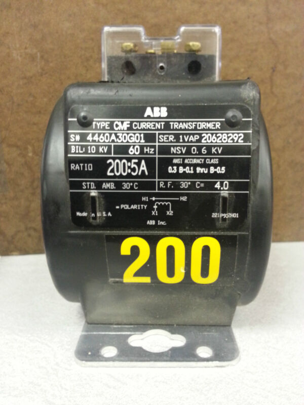 ABB CMF Type, 200:5 ratio, Indoor/Outdoor Current Transformer