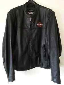 Harley-Davidson Heavy Black Men's Leather Jacket Maroubra Eastern Suburbs Preview
