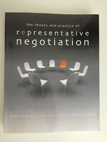 The Theory and Practice of Representative Negotiation Textbook