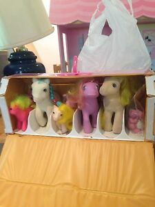 Vintage My Little Ponies