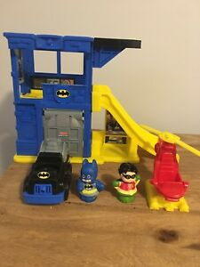 Fisher Price Little People Batman Batcave