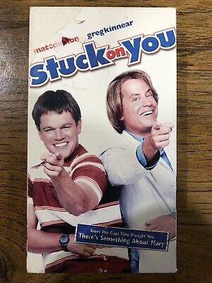 Stuck On You VHS Comedy Matt Damon Greg Kinnear Eva Mendes Cher