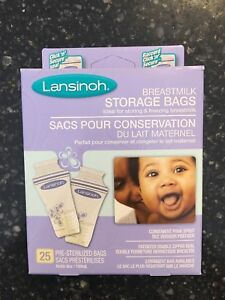 Open Box - Lansinoh Breastmilk Storage Bags, Qty:15