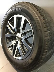 """TOYOTA HILUX SR5 18"""" GENUINE ALLOY WHEELS AND TYRES Carramar Fairfield Area Preview"""