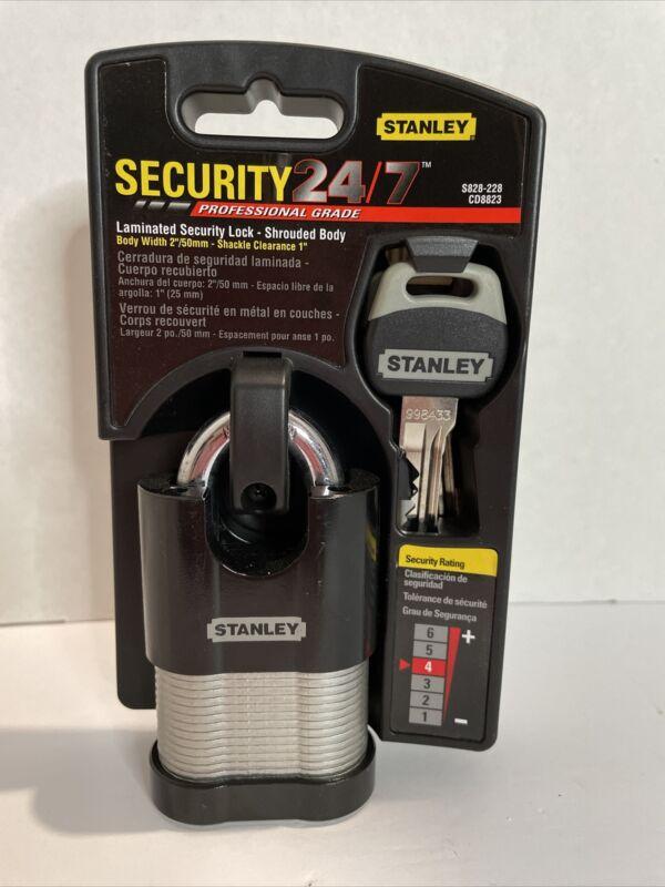 Stanley Laminated Security Lock Grade 4